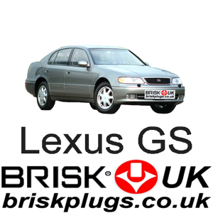 Lexus GS performance spark plugs upgrade tuning 2jz-ge more power Brisk Racing Hong Kong Japan Taiwan