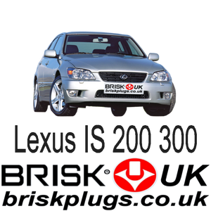 Lexus IS 200 300 tuning parts spares spark plugs brisk racing uk usa asia