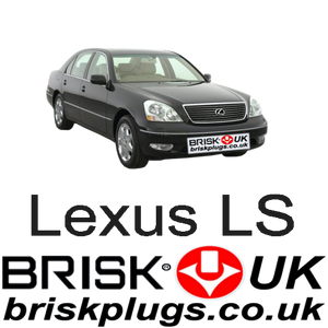 Lexus LS430 Recommended Spark Plugs Denso NGK Brisk Racing UK USA Asia Japan Hong Kong AD PNG