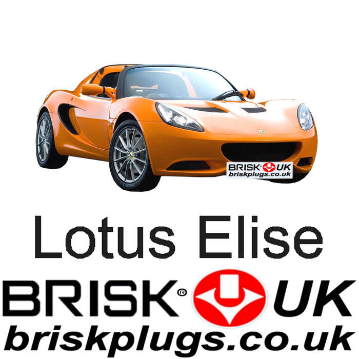 Lotus Elise 1.8 Toyota Mk3 11-ON Brisk Racing Tuning Spark Plugs