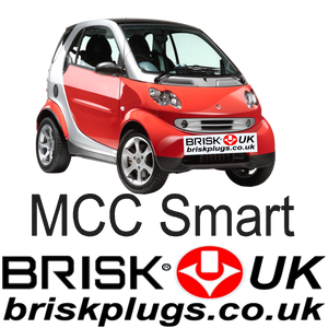 MCC mk2 Smart 4 two coupe Brisk Racing Tuning Spark Plugs Turbo Brabus
