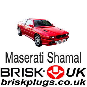 Maserati Shamal Spares Spark Plugs Performance tuning parts Brisk Racing UK