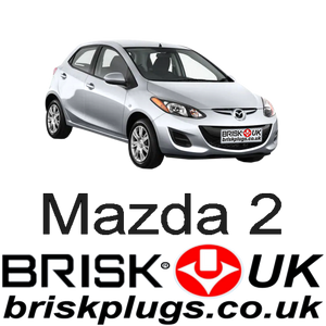 Mazda 2 Brisk Spark Plugs performance upgrade tuning lower emission more power
