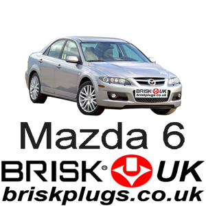 Mazda 6 1 MPS 2.3 Tuning Brisk Spark Plugs Racing Performance Upgrade Recommended