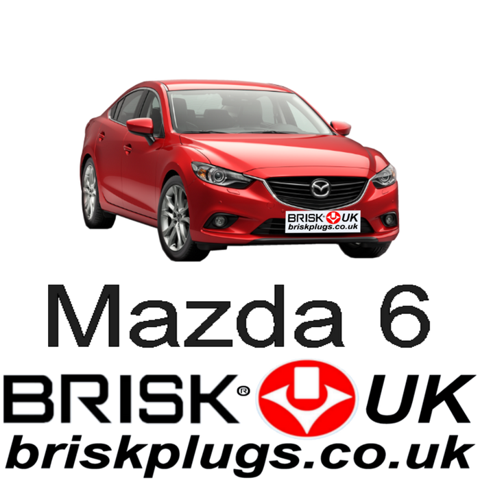 Mazda 6 2.0 2.5 SkyActiv 13-ON Brisk Performance Spark Plugs