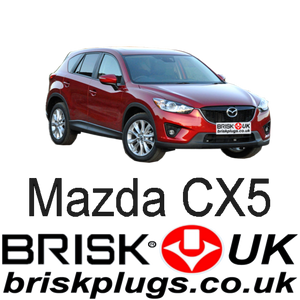 Mazda CX5 Replacement Brisk Spark Plugs Tuning recommended NGK Denso