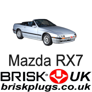 Mazda rx7 turbo 2 Brisk Spark Plugs Racing Tuning performance wankel upgrade parts