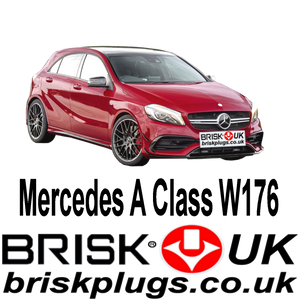 Mercedes A class W176 A45 AMG Brisk Performance Spark Plugs Tuning Upgrade ignition