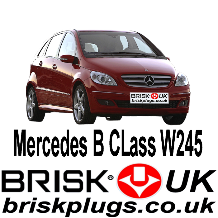 Mercedes B Class W245 1.5 1.7 2.0 04-11 Brisk Spark Plugs Racing LPG CNG