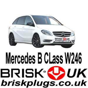 Mercedes B W246 Turbo AMG Brisk Spark Plugs Tuning Racing Upgrade LPG CNG LNG