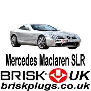 Mercedes Mclaren SLR Special Spark Plugs Brisk Performance ignition racing tuning upgrade
