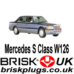Mercedes SEL SE W 126 Brisk Spark Plugs Performance Tuning better spark ignition running problems fixed