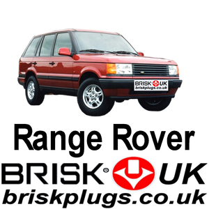 Range Rover 2 P38 4.0 4.6 Brisk Spark Plugs Racing Tuning Vogue LPG CNG LNG GPL