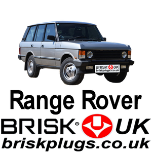 Range Rover Classic Vogue 3.5 3.95 4.3 Brisk Spark Plugs LSE tuning lpg cng lng gpl