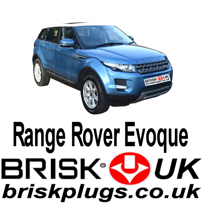 Range Rover Evoque 2.0 Turbo 11-ON Brisk Spark Plugs Performance