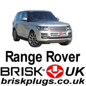 Range Rover L405 5.0 V8 Brisk Spark Plugs Performance Tuning Racing Upgrade