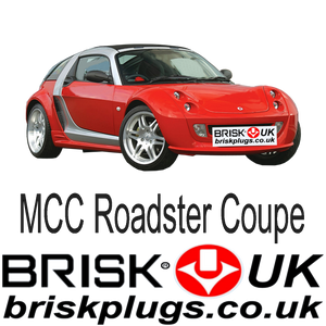 Smart Roadster Brisk Racing Spark Plugs coupe Brabus tuning upgrade performance