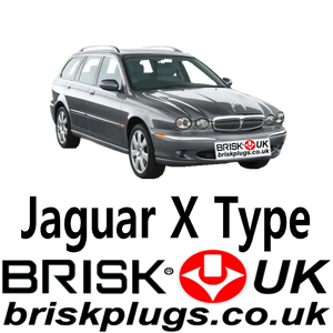 Replacement spark plugs X Type Jaguar BGK DENSO BOSH Brisk Racing UK USA Asia