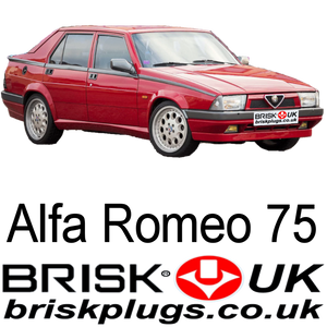 Alfa Romeo 75 Brisk Performance Spark Plugs, Racing,Tuning