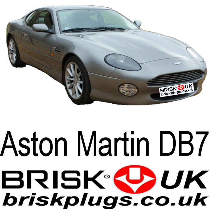 Aston Martin DB7 Spark Plugs 3.2 5.9 94-04 Brisk Racing