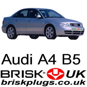 Audi Ar B5 spark plugs, Brisk Racing plugs, RS4 recommended Plug