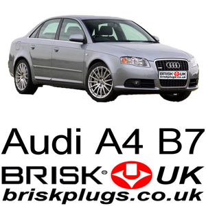 Audi A4 B7 Brisk Spark Plugs, recommended plugs for FSi, TFSI, RS4, V8