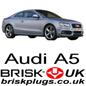 Audi A5 Spark plugs, performance upgrade, brisk racing UK