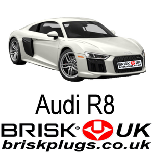 Audi R8 FSI Spark Plugs recommended upgrade racing replacement