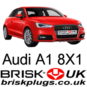 audi a1 tfsi spark plugs, brisk racing, performance ignition