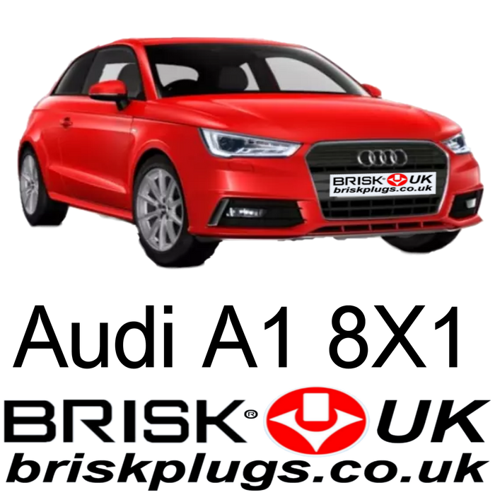 Audi A1 Spark plugs 1.2 1.4 TFSI Brisk Racing Tuning Parts 10-20