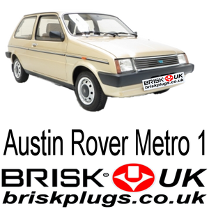 Austin Rover Metro Spark Plugs, brisk racing ignition parts spares