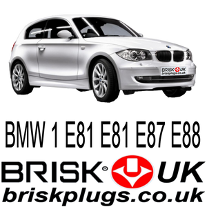 BMW spark plugs 1 series Brisk racing recommended 118i 120i 135i