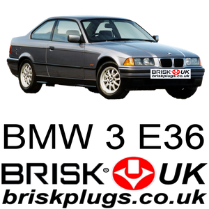 BMW E36 Brisk Spark plugs Racing LPG CNG E85