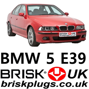 BMW E39 spark plugs NKG Bosch Denso Brisk Plugs UK performance ignition