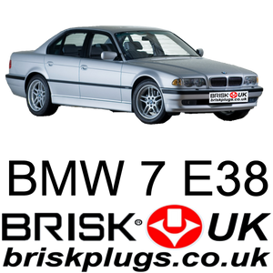 Bmw E38 7 series spark plugs brisk racing uk lpg plug