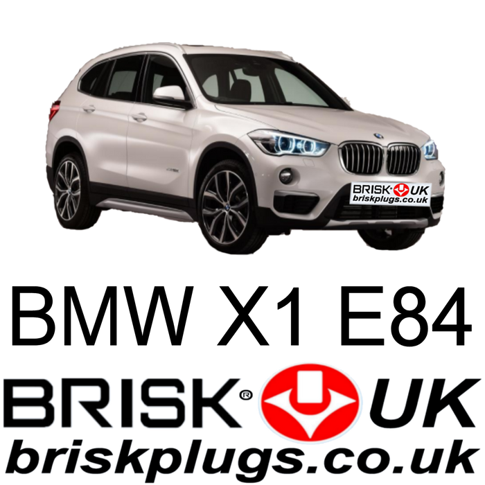 BMW X1 E84 2.0 3.0 Brisk Spark Plugs 09-18 Performance Upgrade