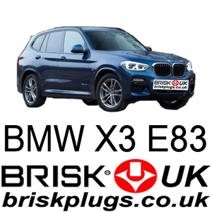 BMW X3 2.0 2.5 3.0 replacement brisk spark plugs recommended