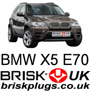 BMW X5 E70 3.0 4.8 is Brisk spark plugs more power LPG GPL oem upgrade
