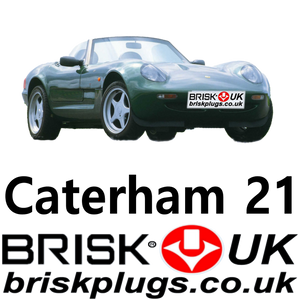 racing tuning spark plugs for caterham 21 Brisk Race performance plug