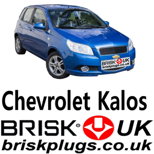Chevrolet Kalos spark plugs performance upgrade brisk racing uk