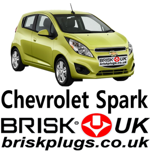 Chevrolet Spark performance spark plugs Brisk racing LPG GPL CNG Metano