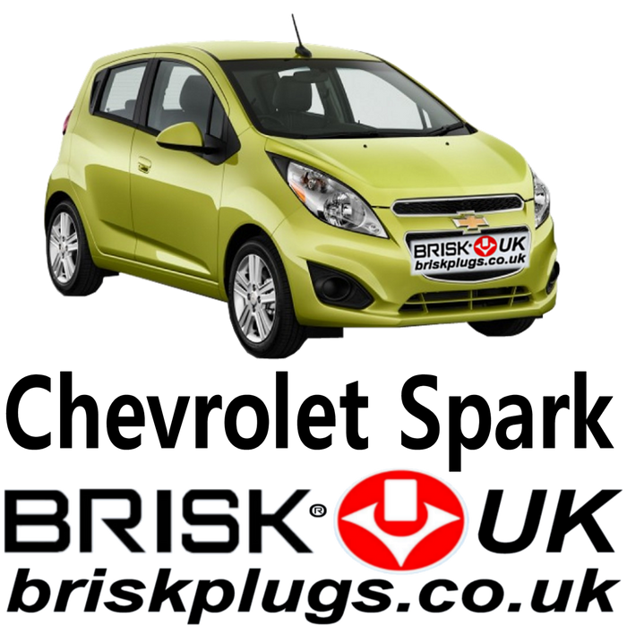 Chevrolet Spark Brisk Performance Spark Plugs 0.8 1.0 09 - 18
