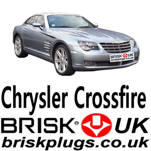 chrysler Crossfire 3.2 srt mopar spark plugs brisk racing more power