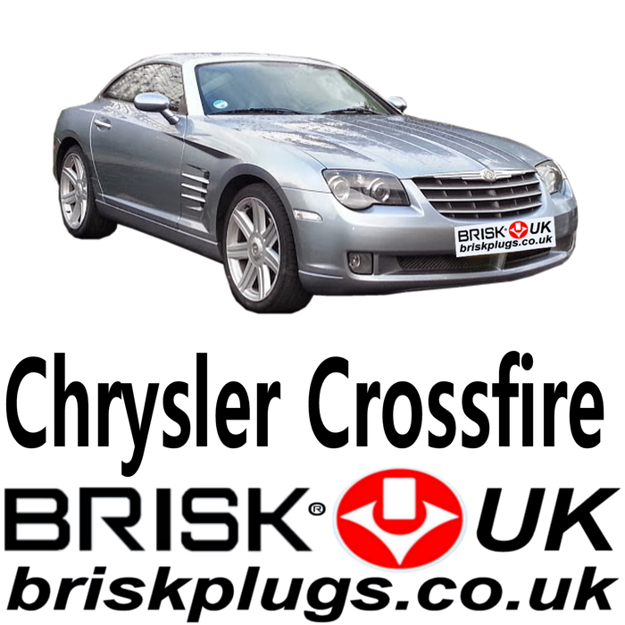 Chrysler Crossfire Brisk Spark Plugs 18v 3.2 SRT 6 03-08