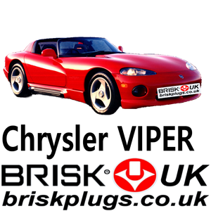 Chrysler Dodge Viper spark plugs brisk racing plug tuning more power