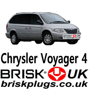 Chrysler grand voyager brisk spark plugs performance lpg cng