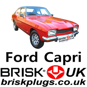 Capri Mk1 Replacement part spark plugs brisk racing UK