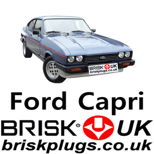 Ford Capri 2.0 2.8 Injection Turbo Spark Plugs recommended tuning Brisk Racing Uk