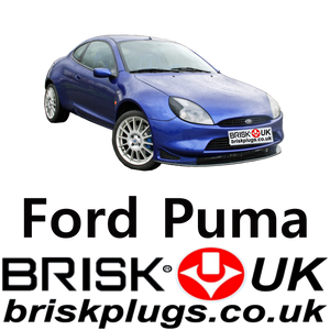 Ford Puma Racing Spark Plugs LPG CNG Brisk Plugs UK US AU