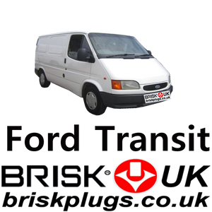 Ford Transit Spark Plugs Original Motorcraft replacement Brisk Racing UK